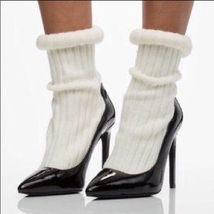 Jeffrey Campbell Pristine Sock High Heel Offers 👍